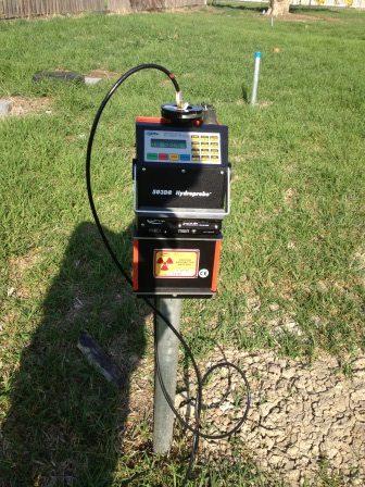 Neutron probe longterm soil moisture monitoring