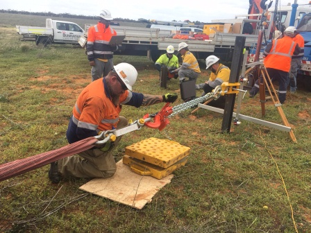 Pile lateral load testing